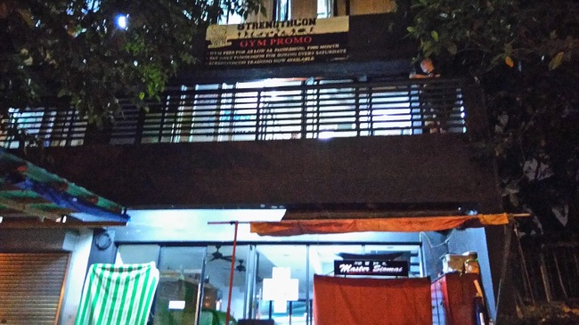 Human Energy Boxing and Fitness gym, Manila Outside shot