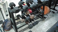 Human Energy Boxing and Fitness gym, dumbbells